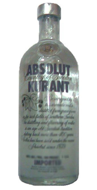 Absolut Vodka Kurant- 1 liter