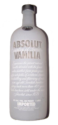 Absolut Vodka Vanilia- 1 liter