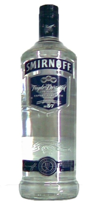 Smirnoff Vodka Blue