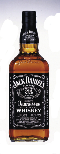 Jack Daniel`s  Black Label- 1 liter