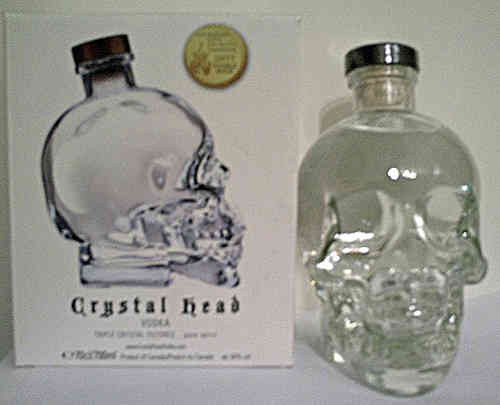 Crystal Head Vodka- 1 liter