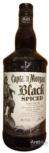 Captain Morgan Spiced Black Rum