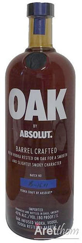 Absolut Vodka Oak- 1 liter