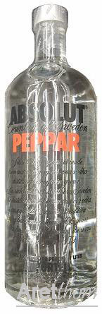 Absolut Vodka Pepper- 1 liter