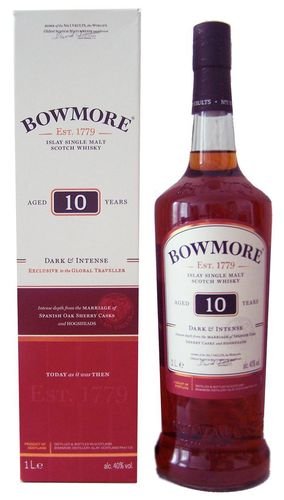 Bowmore 10 YO Dark & Intense 1 liter