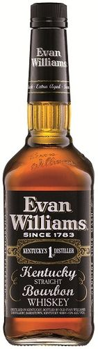 Evan Williams 7 Y Kentucky Bourbon-  1 liter