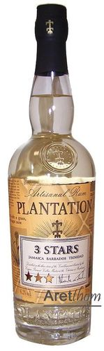 Plantation Three Stars White