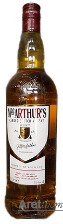 Mac Arthur`s Select Scotch Whisky