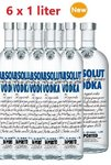 Absolut Vodka- 6 x 1 liter